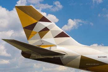 N476MC - Etihad Cargo Boeing 747-400F, ERF