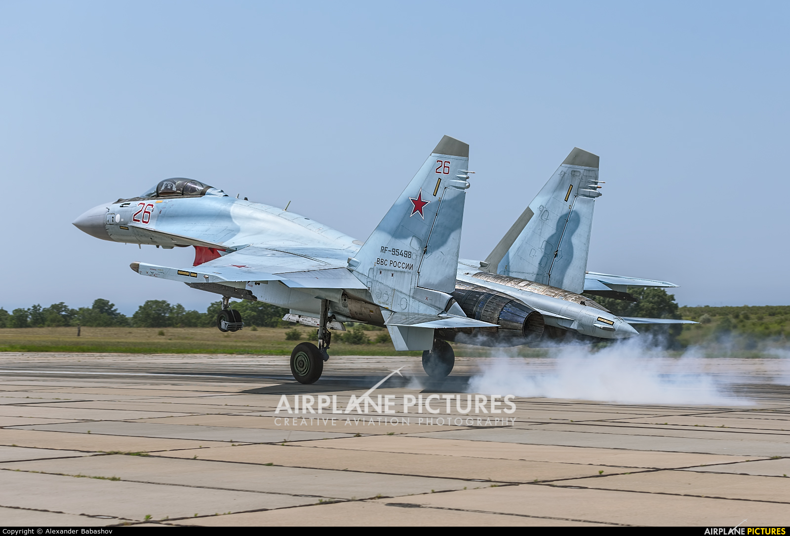Russia - Air Force Sukhoi Su-35S RF-95498