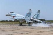 RF-95498 - Russia - Air Force Sukhoi Su-35S aircraft