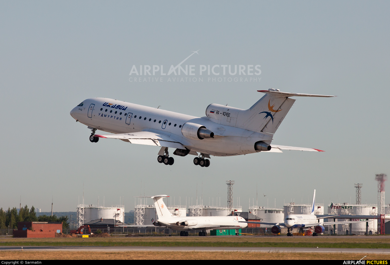Izhavia RA-42450 aircraft at Kazan