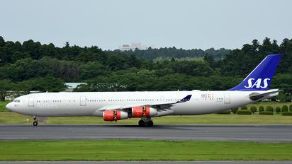LN-RKF - SAS - Scandinavian Airlines Airbus A340-300