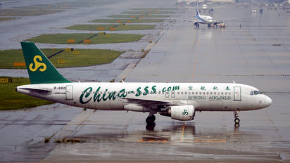 B-6821 - Spring Airlines Airbus A320