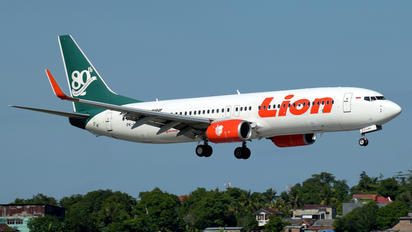 PK-LKP - Lion Airlines Boeing 737-800