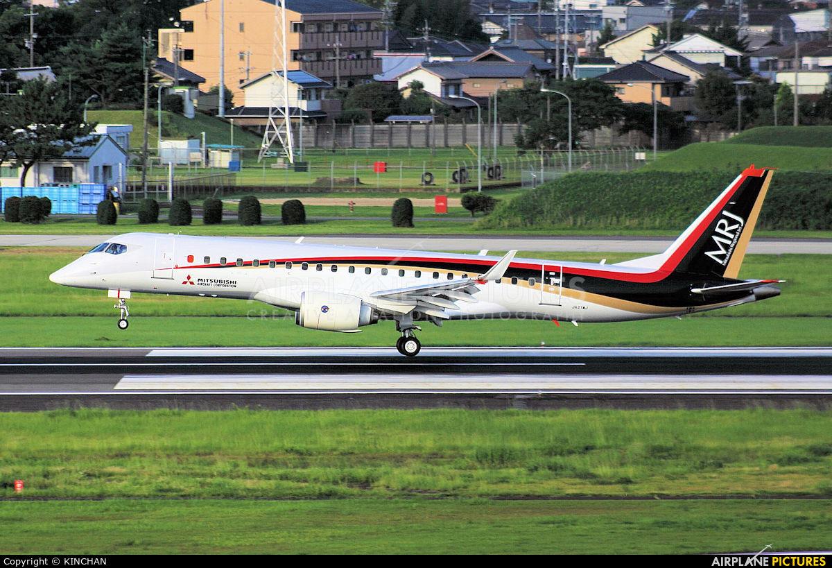 Mitsubishi Aircraft Corporation JA21MJ aircraft at Nagoya - Komaki AB