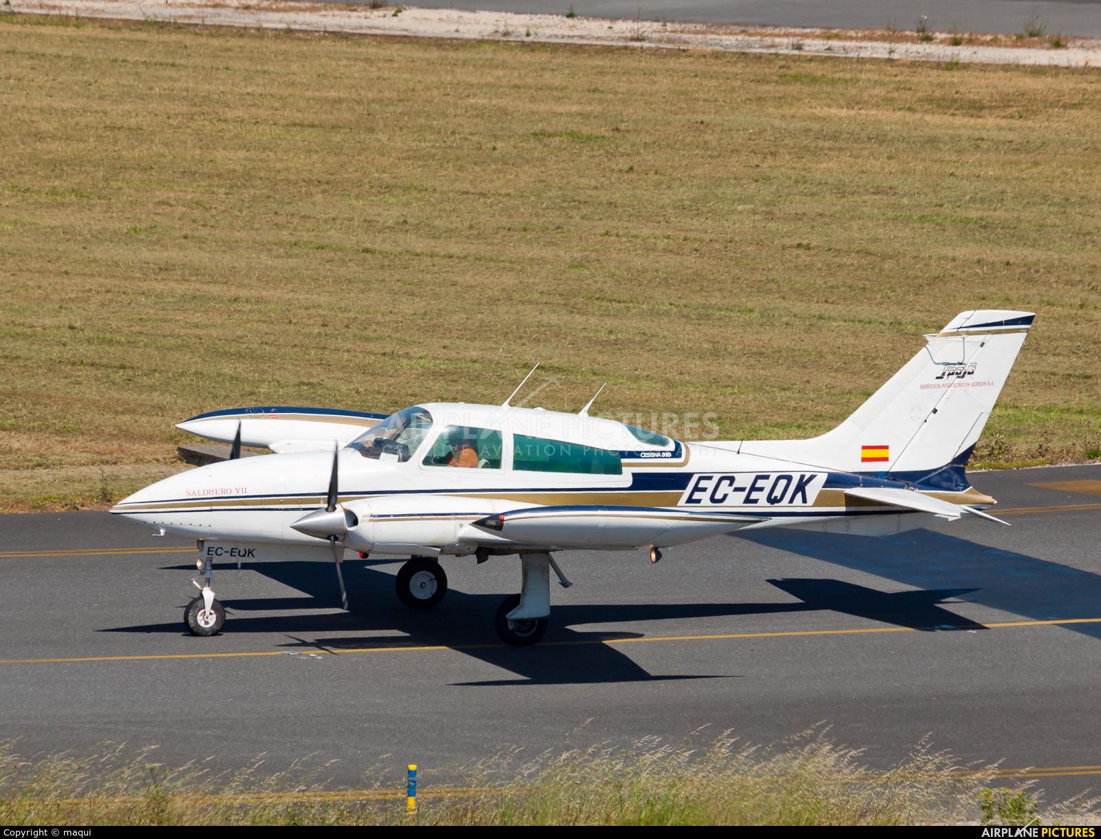 SPASA Servicios Politécnicos Aéreos EC-EQK aircraft at La Coruña