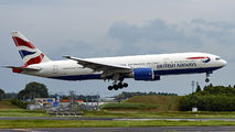 G-YMMF - British Airways Boeing 777-200 aircraft