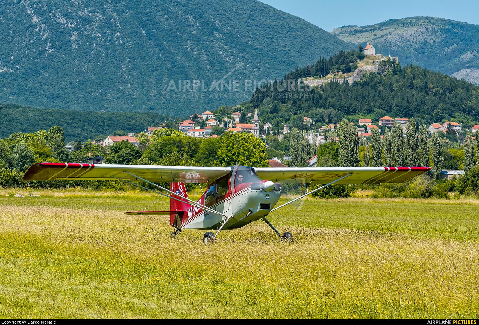 Aeroklub SPLIT 9A-SIN aircraft at Sinj Airfield