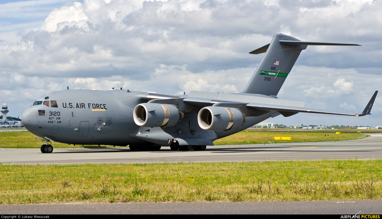 USA - Air Force 33120 aircraft at Warsaw - Frederic Chopin