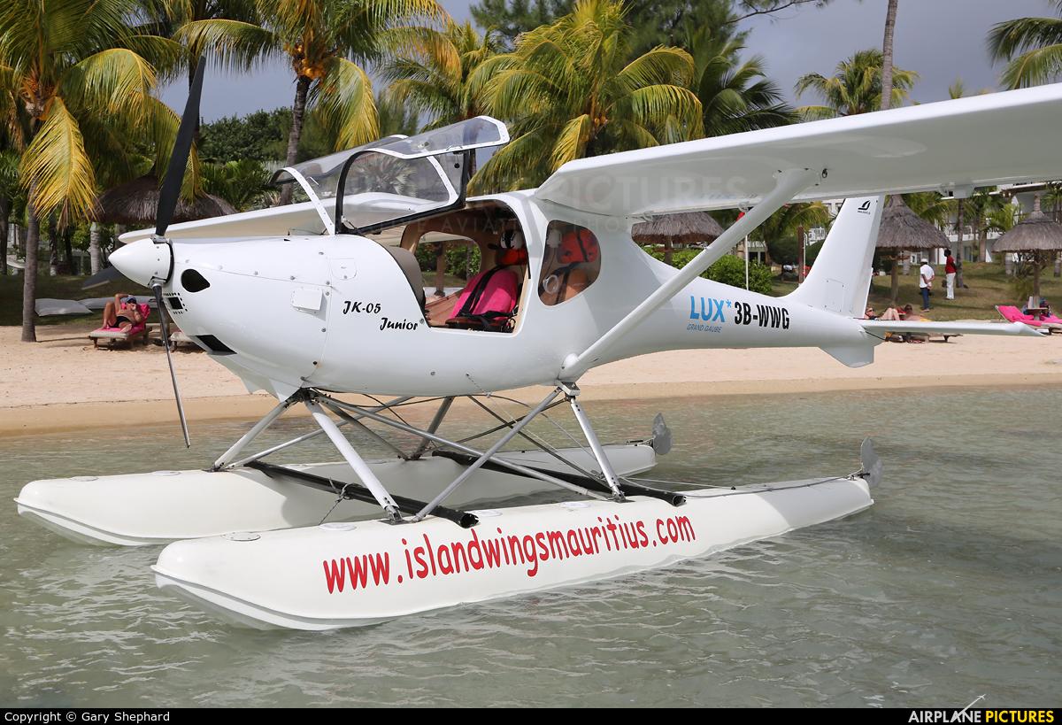Island Wings Mauritius 3B-WWG aircraft at Off Airport - Mauritius