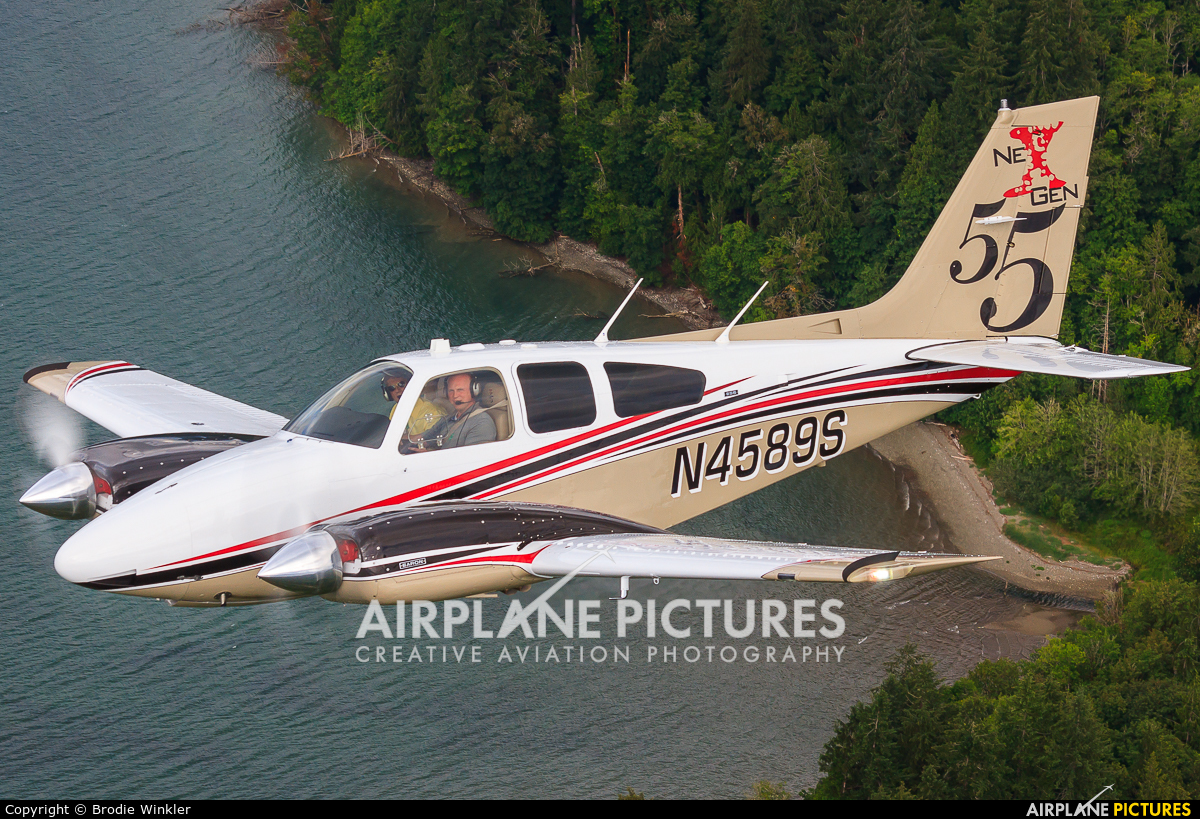Private N4589S aircraft at In Flight - Washington (State)
