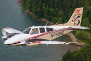 N4589S - Private Beechcraft 55 Baron aircraft