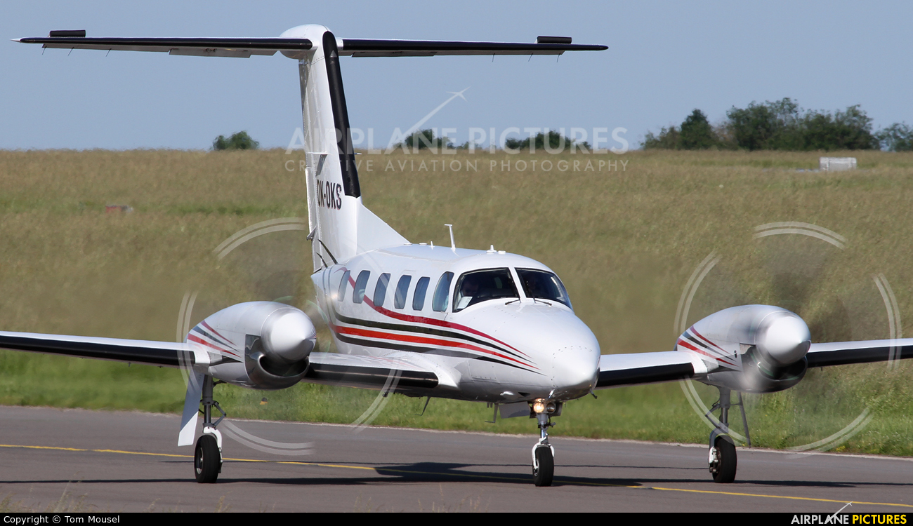Private OK-OKS aircraft at Luxembourg - Findel