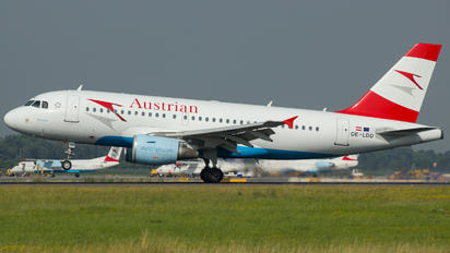 OE-LDD - Austrian Airlines/Arrows/Tyrolean Airbus A319