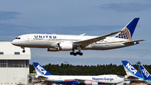 N30913 - United Airlines Boeing 787-8 Dreamliner aircraft