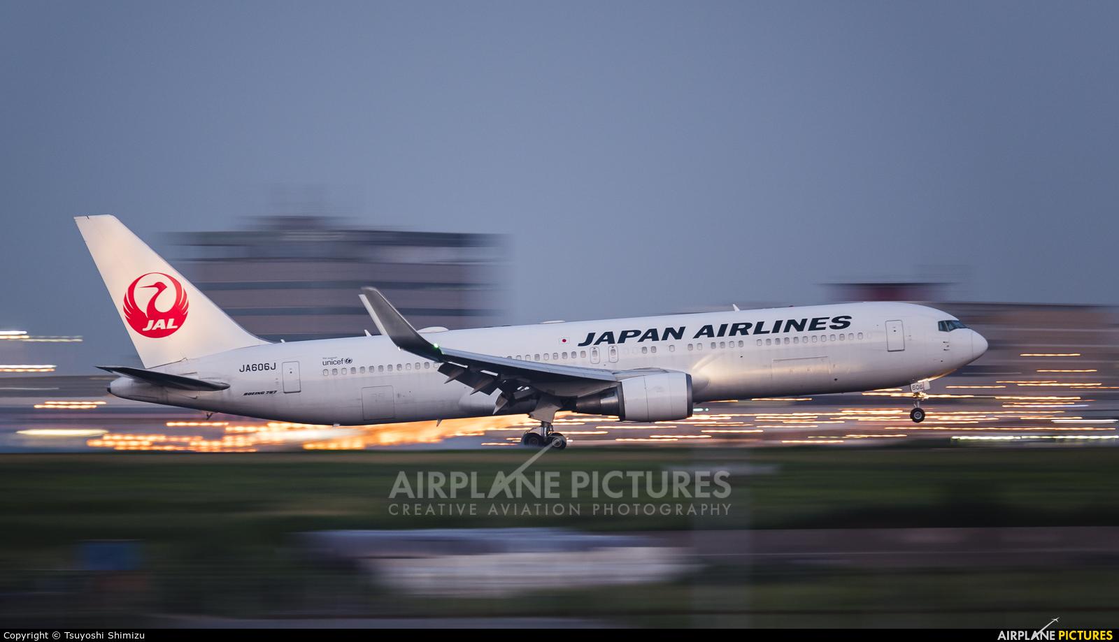 JAL - Japan Airlines JA606J aircraft at Tokyo - Haneda Intl