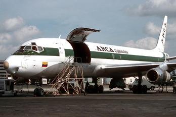 HK-2587X - ARCA Coumbia Douglas DC-8