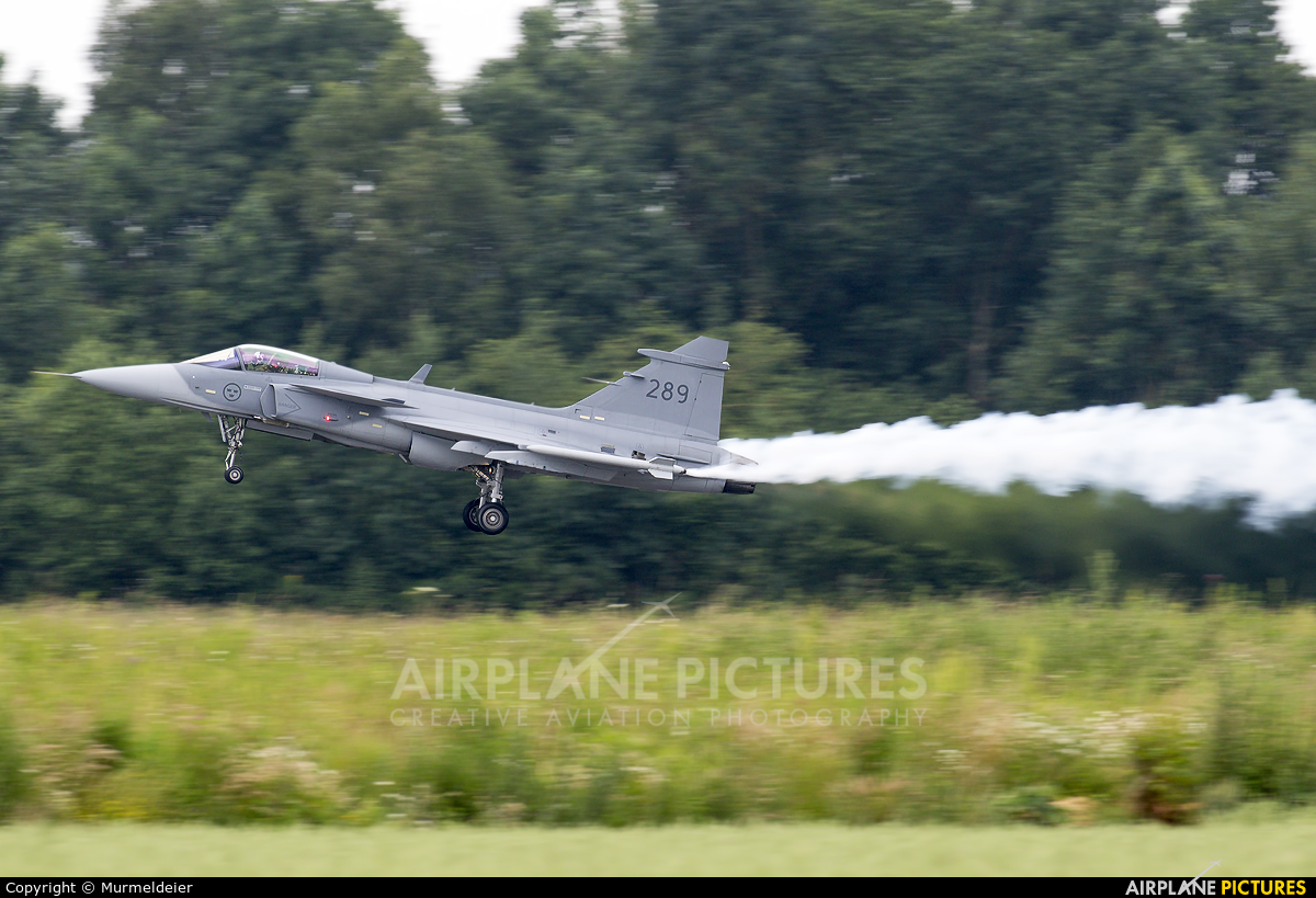 Sweden - Air Force 289 aircraft at Florennes