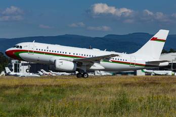 A4O-AJ - Oman - Royal Flight Airbus A319 CJ