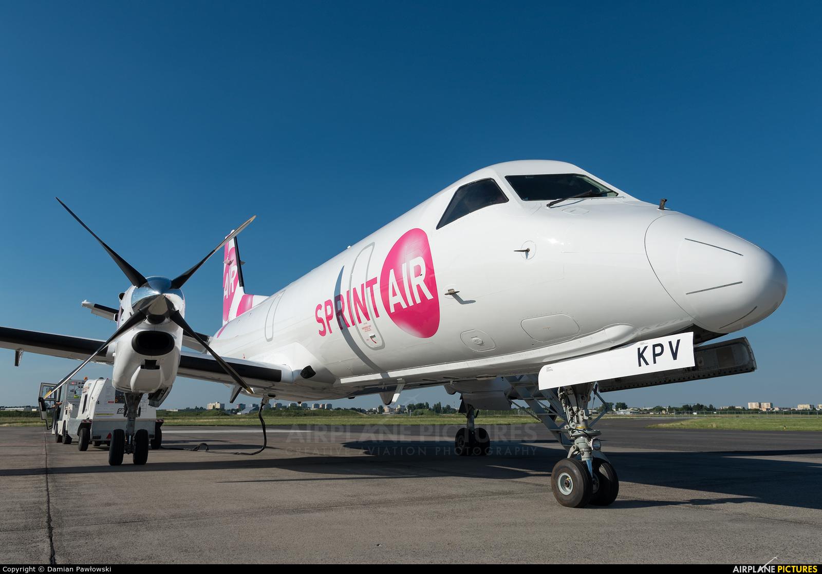 Sprint Air SP-KPV aircraft at Bydgoszcz - Szwederowo