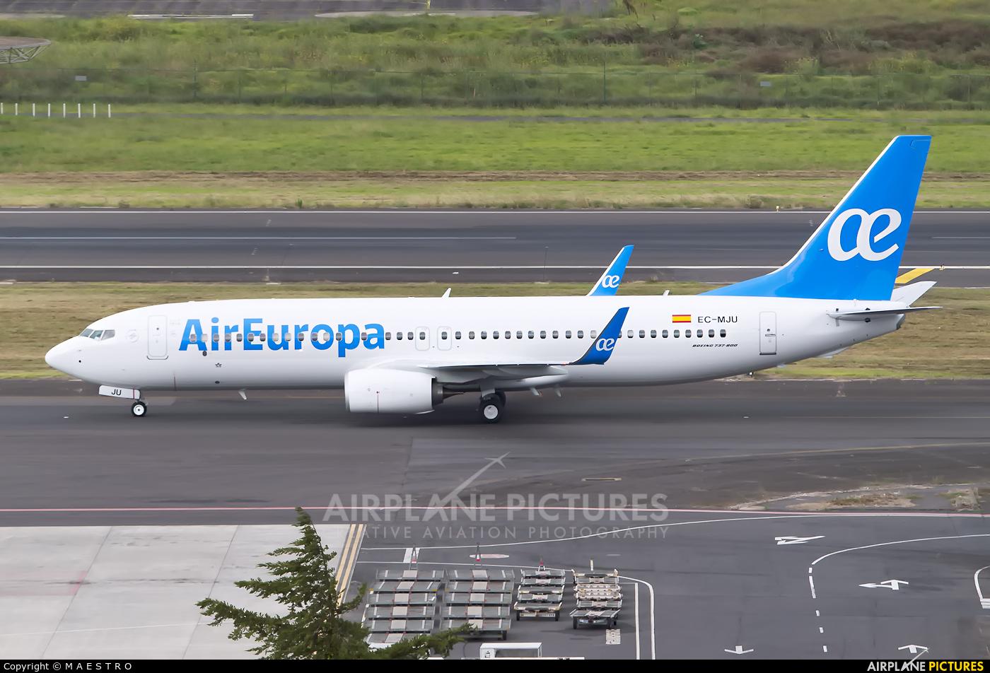 Air Europa EC-MJU aircraft at Tenerife Norte - Los Rodeos