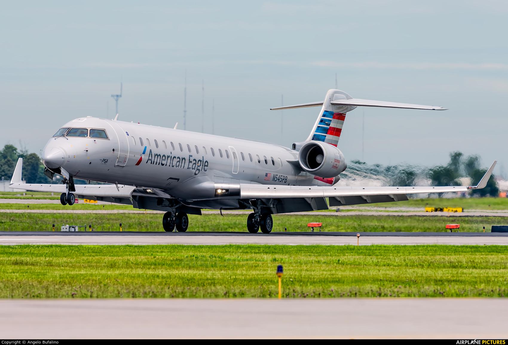 American Eagle N545PB aircraft at Indianapolis Intl