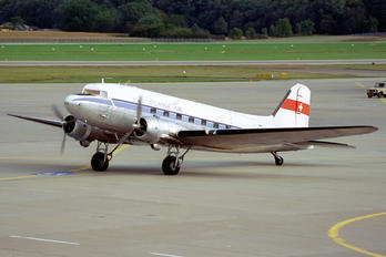 HB-ISB - Classic Air Douglas C-47D Skytrain