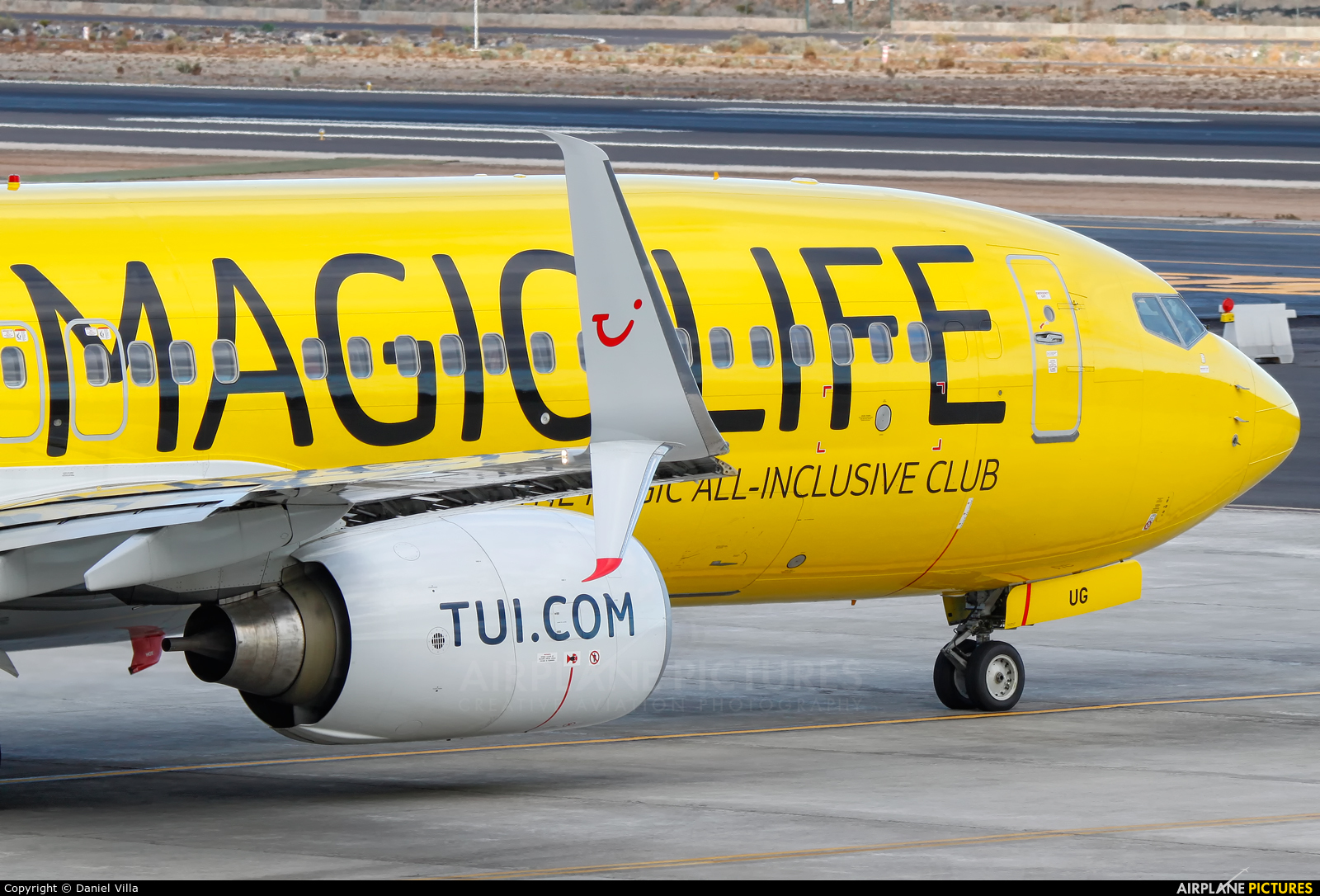 TUIfly D-ATUG aircraft at Tenerife Sur - Reina Sofia