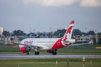 C-FZUG - Air Canada Rouge Airbus A319