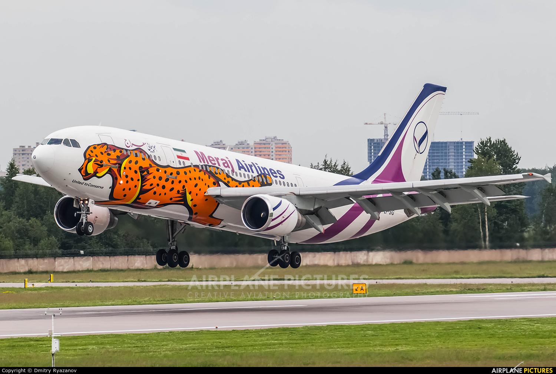 Meraj Airlines EP-SIG aircraft at St. Petersburg - Pulkovo