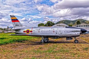 0014 - Venezuela - Air Force North American F-86K Sabre