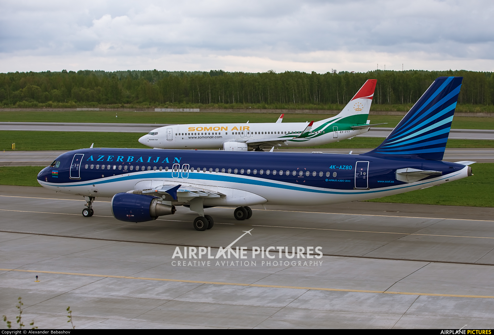 Azerbaijan Airlines 4K-AZ80 aircraft at St. Petersburg - Pulkovo