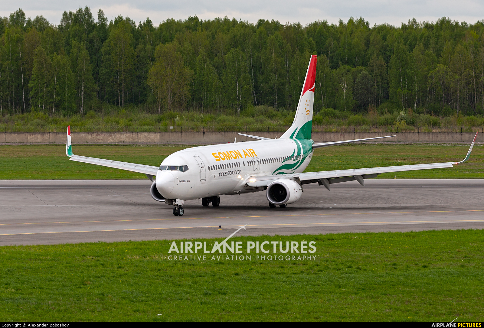 Somon Air Boeing 737-800 EY-777