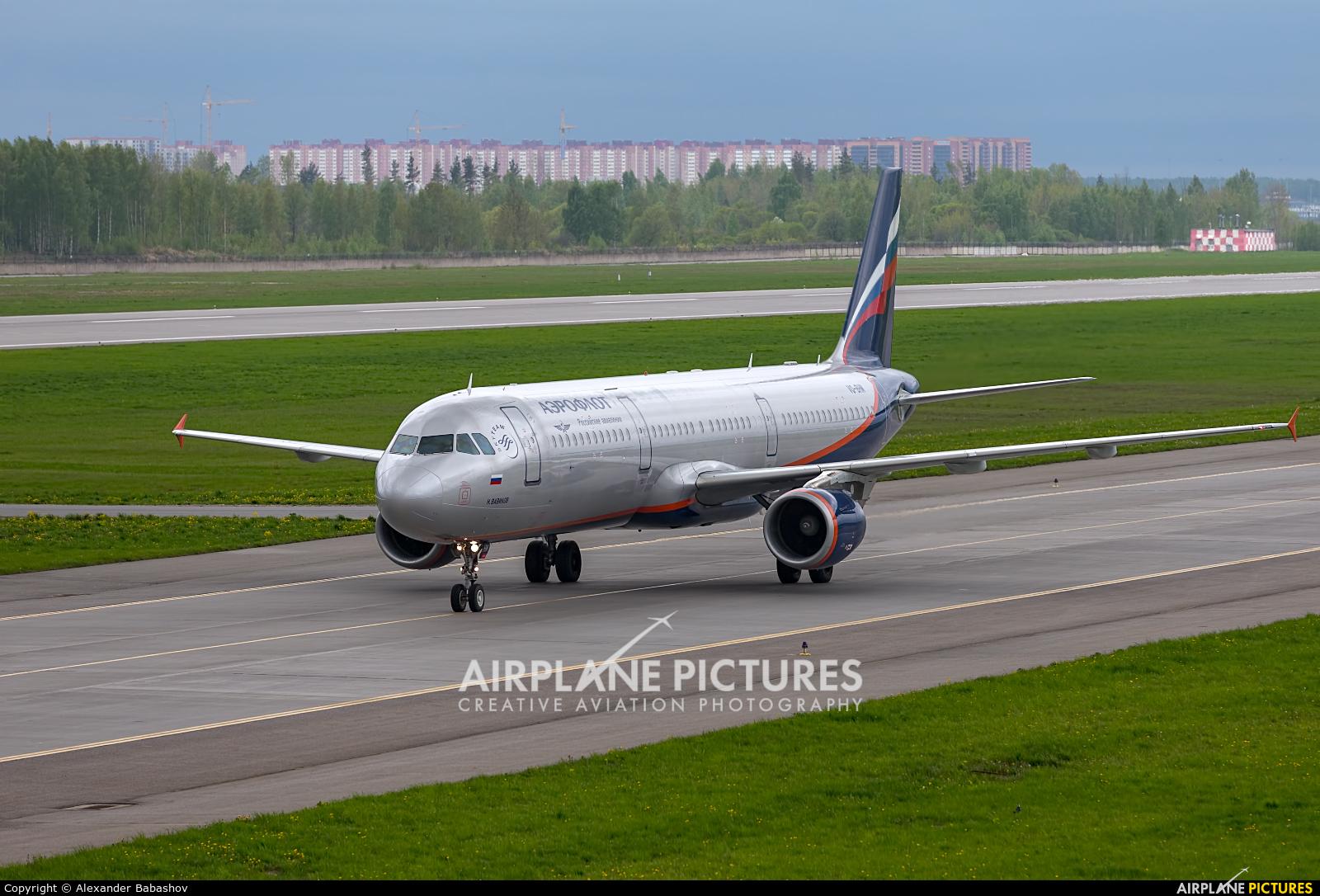 Aeroflot Airbus A321 VQ-BHM