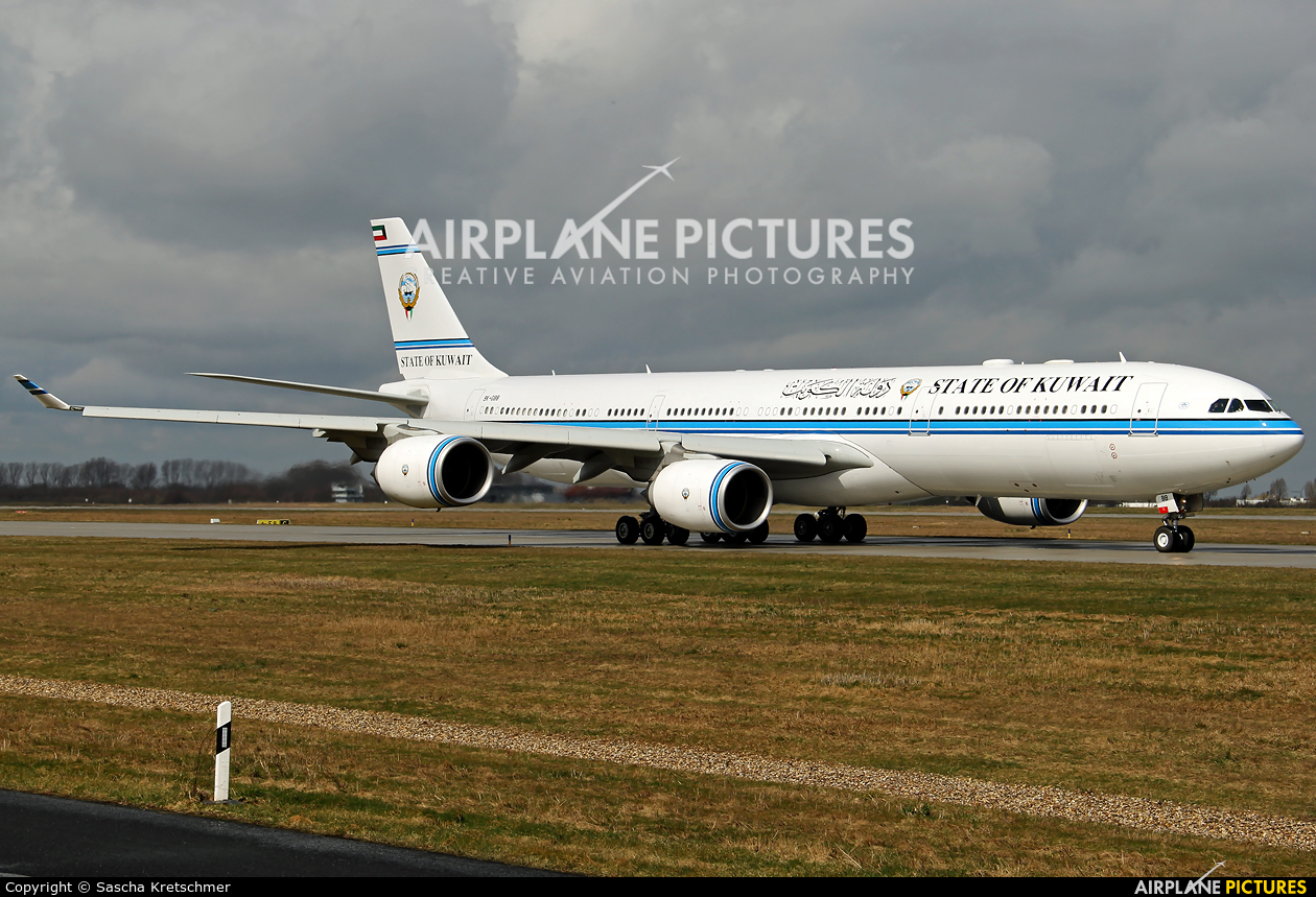 Kuwait - Government 9K-GBB aircraft at Leipzig - Halle