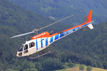 OE-XHO - Wucher Helicopter Aerospatiale AS350 Ecureuil / Squirrel
