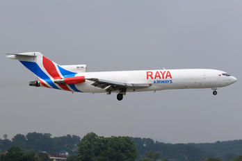 9M-TGH - Raya Airways Boeing 727-200F (Adv)