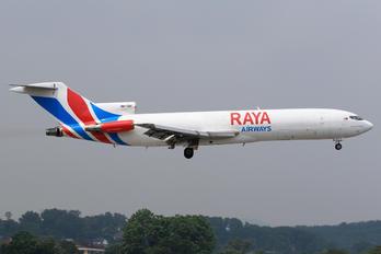 9M-TGH - Raya Airways Boeing 727-200F (Adv)
