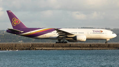HS-TJB - Thai Airways Boeing 777-200