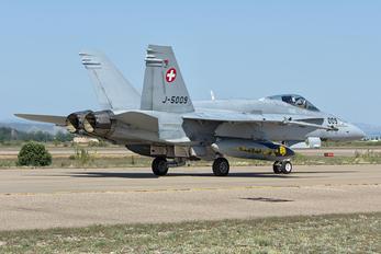 J-5009 - Switzerland - Air Force McDonnell Douglas F/A-18C Hornet
