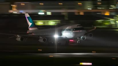 B-HUJ - Cathay Pacific Boeing 747-400