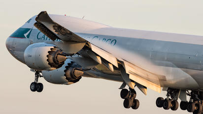 B-LJB - Cathay Pacific Cargo Boeing 747-8F