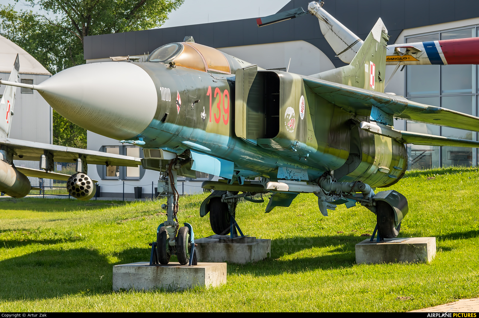 Poland - Air Force 139 aircraft at Dęblin - Museum of Polish Air Force