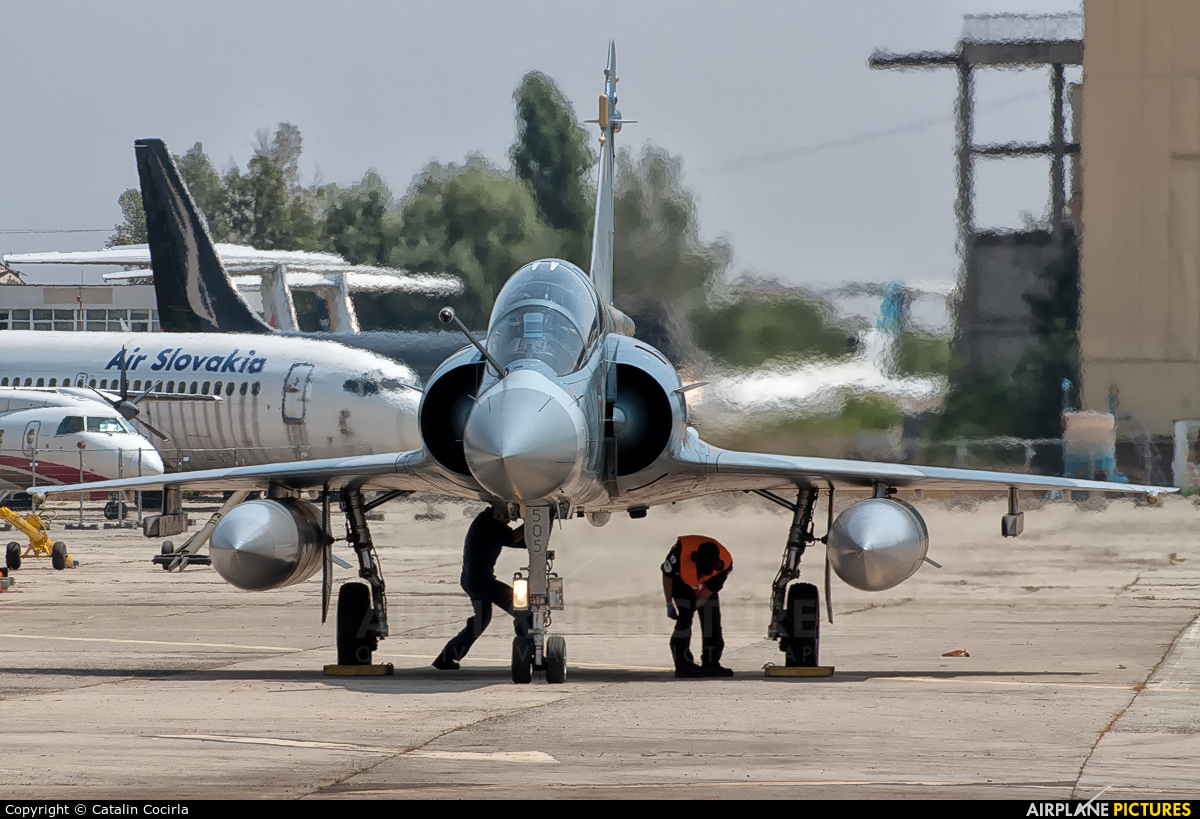 Greece - Hellenic Air Force 505 aircraft at Bucharest - Aurel Vlaicu Intl