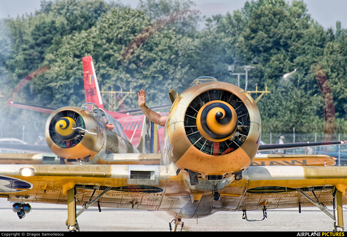 Aerobatic Yakkers LY-WAA aircraft at Bucharest - Aurel Vlaicu Intl