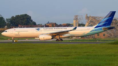 PK-GPU - Garuda Indonesia Airbus A330-300
