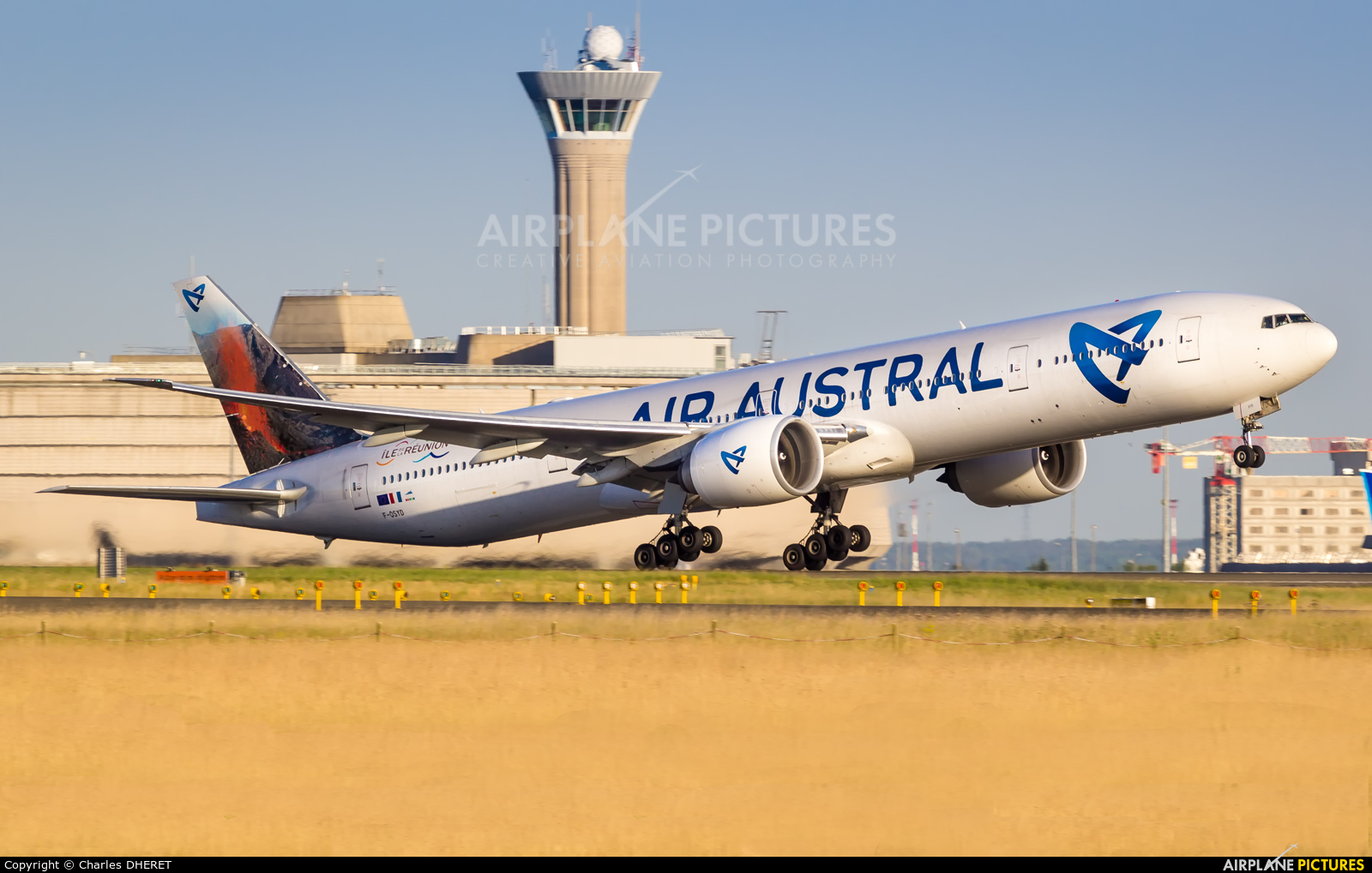 Air Austral F-OSYD aircraft at Paris - Charles de Gaulle