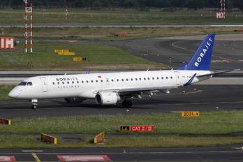 TC-YAM - Bora Jet Airlines Embraer ERJ-190 (190-100)