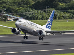HP-1378CMP - Copa Airlines Boeing 737-700