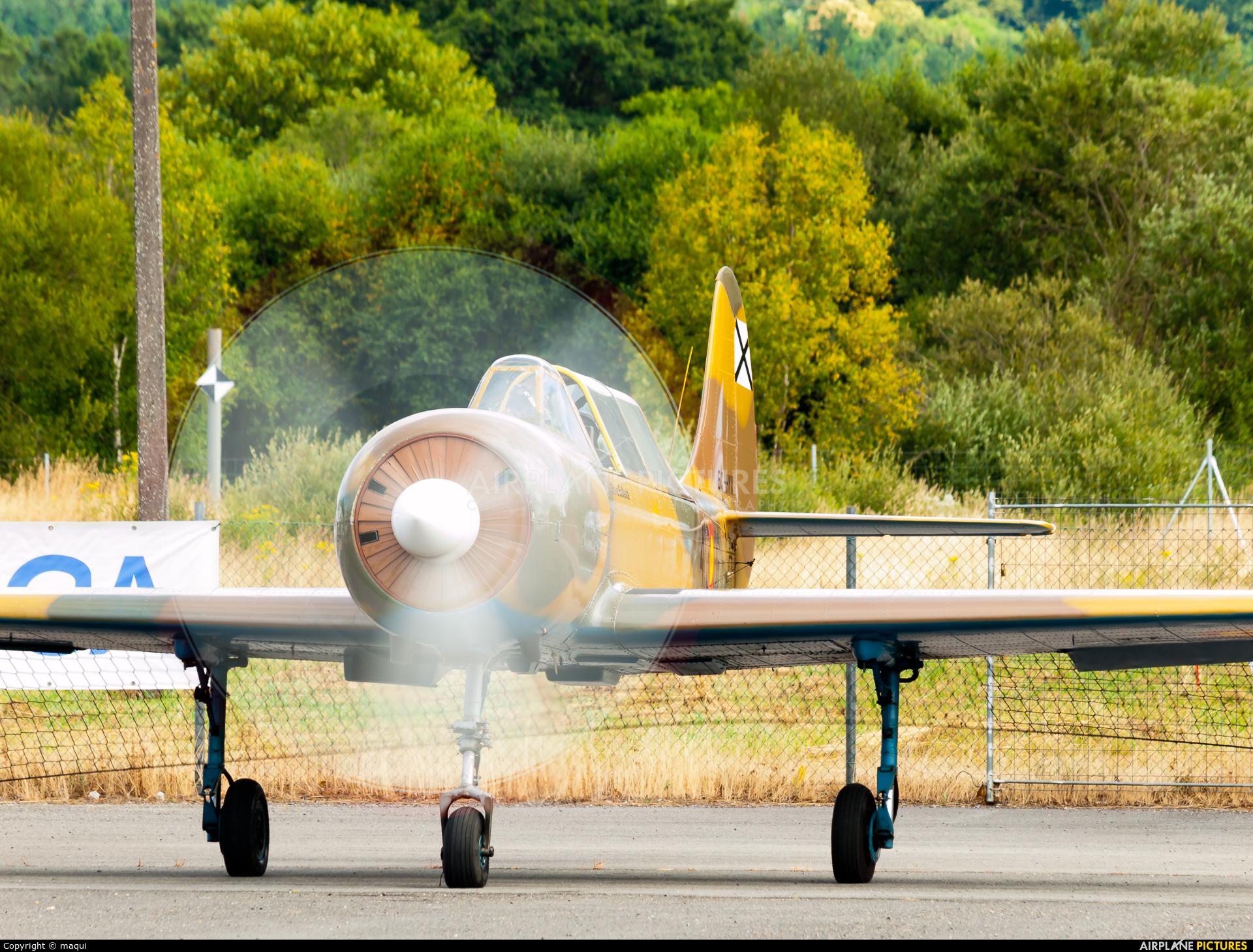 Private EC-HYX aircraft at Lugo - Rozas