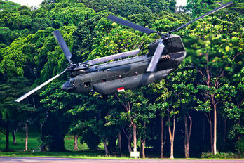88199 - Singapore - Air Force Boeing CH-47SD Chinook